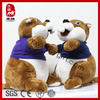 New 2014 Stuffed Wild Animal Toy Plush Dressing Squirrel