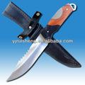 привлекательная деревянная ручка наруёная охота ножи заготовки для лезвий