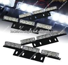 36 Bright White LED Grille Light LED Warning Flash Strobe Lights Bar for Windshield / Dash / Deck / Grille
