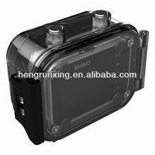 16.0 mega pixels digital camera with dual display waterproof camera lithium battery digital camera