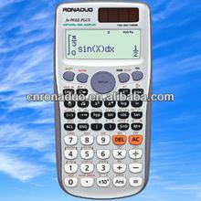 fraction calculator 10+2 digits scientific calculator 991es plus promotion calculator solar cell