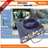 Best 3G DVR with SIM card GPS video monitoring 4 channel Camera system PTZ control