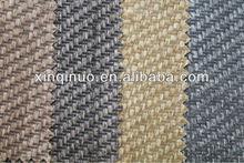 2014 latest Old vintage printed twill raffia fabric