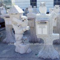Granite stone mailbox(laizhou,shandong, china)
