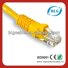 lan cable Cat 6 UTP patch cord,ISO,CE,ROHS