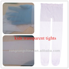 transparent panties for girls nude white transparent summer wear kids in nylon pantyhose tights