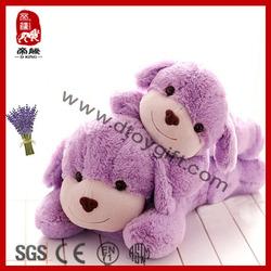 2014 New Best Selling Plush Toy Stuffed Lavender Dog Plush Toy