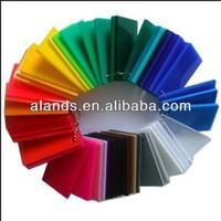 High plasticity clear colors cast heat resistant plastic acrylic sheet