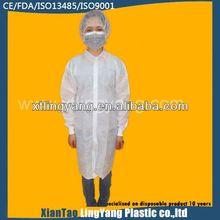 Medical suppliers for fashionable designed medical lab coat