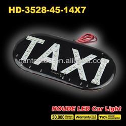 super bright led taxi sign