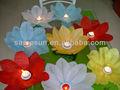 decorativos de agua lirio de agua flotante linterna de papel