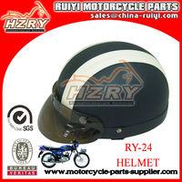 Novelty Leather Motorcycle Helmet For Sale Motorcycle Accessory Motorcross Helmet