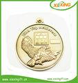 2014 neue großhandel leer vergoldet Tennis billige sport medaillen