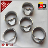 polish full 420 steel finger ring bottle opener