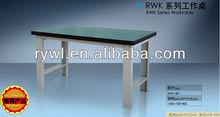 Heavy duty metal work tables