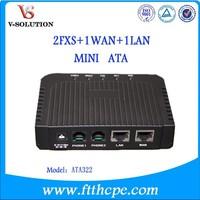 Analog Telephone Adapter ATA322/VoIP Gateway/ voip phone/voip ata