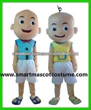 Hot sale adult upin & ipin mascot costume