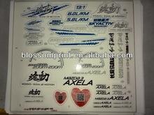 MAZDA 3 AXELA Car sticker