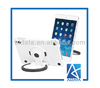 Strong Polycarbonate Rotating Tablet Stand for iPad Mini Case
