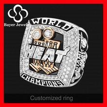 cheap fashion miami heat championship ring replica ring deep engraving (factory price )