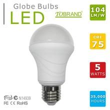 CE/ROHS/SAA/C-TICK e27 high power led par bulb led bulb 5w lamp