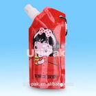 custom foldable drinking water bottles Disney authorized