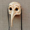 Carnaval zanni máscara elefante longa/grande máscara do nariz