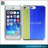 aluminum sticker diamond design cell case for Apple 5 5S