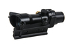1x32 Tactical red dot scopes/red dot laser sight scope with real fiber for hunting GZ2052