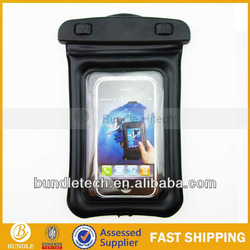 Good quality phone waterproof case,pvc waterproof bag for iphone