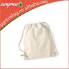 Mini eco cotton drawstring bag