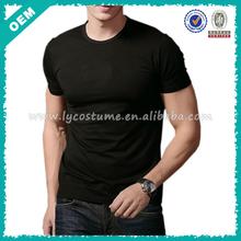 Slim Fit Mens Blank T-shirt 95/5 Cotton/Spandex (lyt-060002)