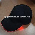 wholesale led light baseball cap / led baseball hat for promotion / cheap led light baseball cap