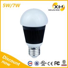 2014 cost-effective led bulb 5w e26 / competitive bright led bulb 5w cool white