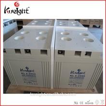 High Quality 2v 2000ah Deep Cycle Vrla Battery