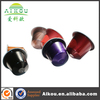 clean up aluminum foil nespresso coffee capsule filling machine for tin
