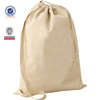 cotton drawstring bag of single shoulder handle to carry