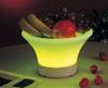 Plastic LED Ice bowl/LED Ice fruit plate/led fruit cooler