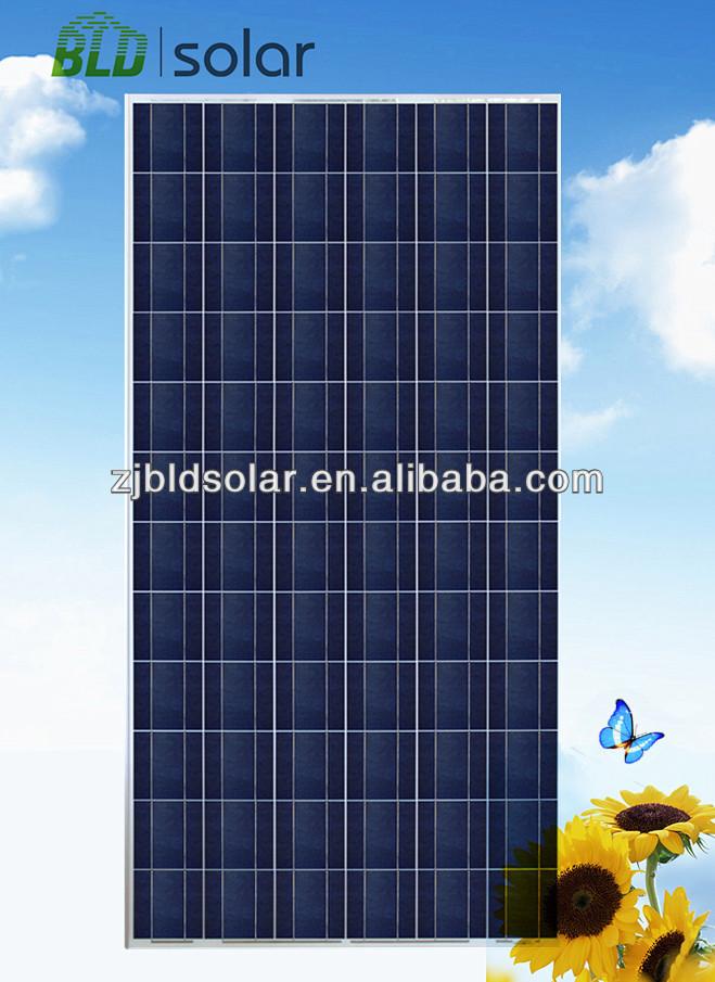Price per watt solar panels 300W Mono or poly solar panel TUV MCS CE UL