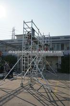 ladder/h and door frame scaffolding
