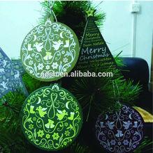 2014 new design Chrismas car air freshener, hanging paper car air freshener for tree