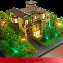Miniature villa Models / architectural villa scale model