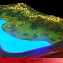 Villa scale model / miniature villa model