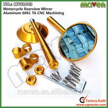 Maven Universal Aluminium Motorbike Parts CNC Rear Side Mirror For Suzuki SV 650 SV-650 Motorcycle Mirror MV01003