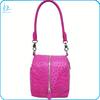 Luxury real ostrich skin shoulder bag genuine ostrich leather shoulder bag for women