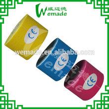 Blue/ skin/ pink/black Waterproof 5CM* 5M Tex Tape Athlete Kinesiology sports Tapes