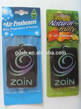 car air fresheners wholesale, factory price car vent air freshener, natural fruit air freshener