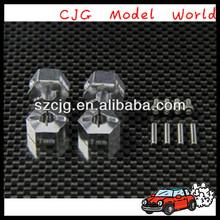 Top sale!!AXIAL EXO 1/10 4WD TERRA BUGGY Aluminum metal locking hex coupler 4pcs set