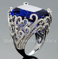 2013 Fashion Luxury Zircon wedding 3 carat diamond ring