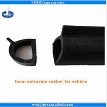 Jiangyin Huayuan supplys various foam extrusion rubber for vehicle